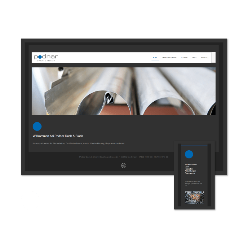 K.HERMES Grafik & Webdesign - dachundblech-HP