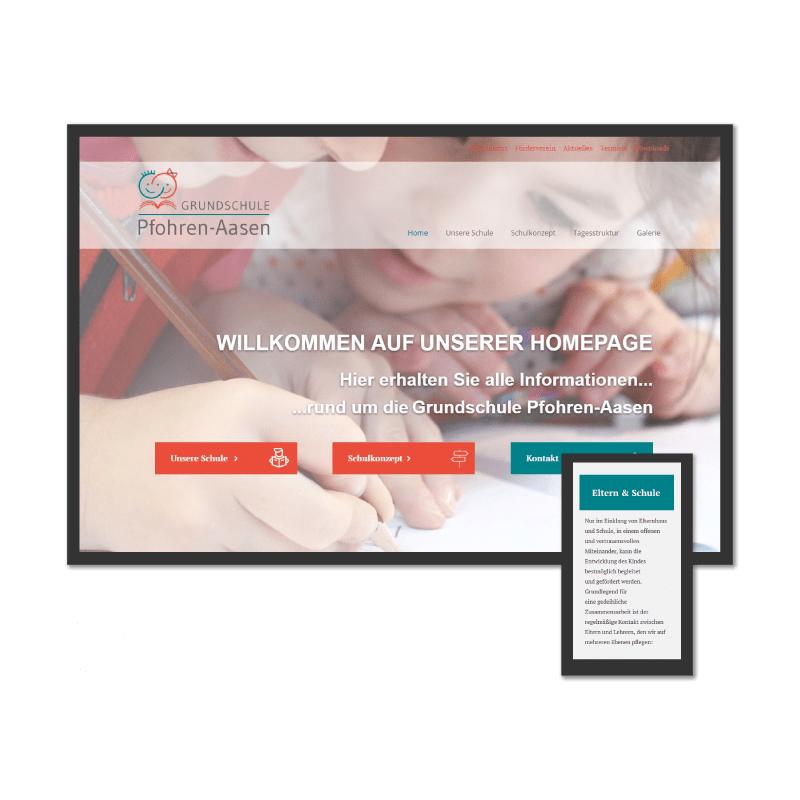 K.HERMES Grafik & Webdesign - grundschule-HP