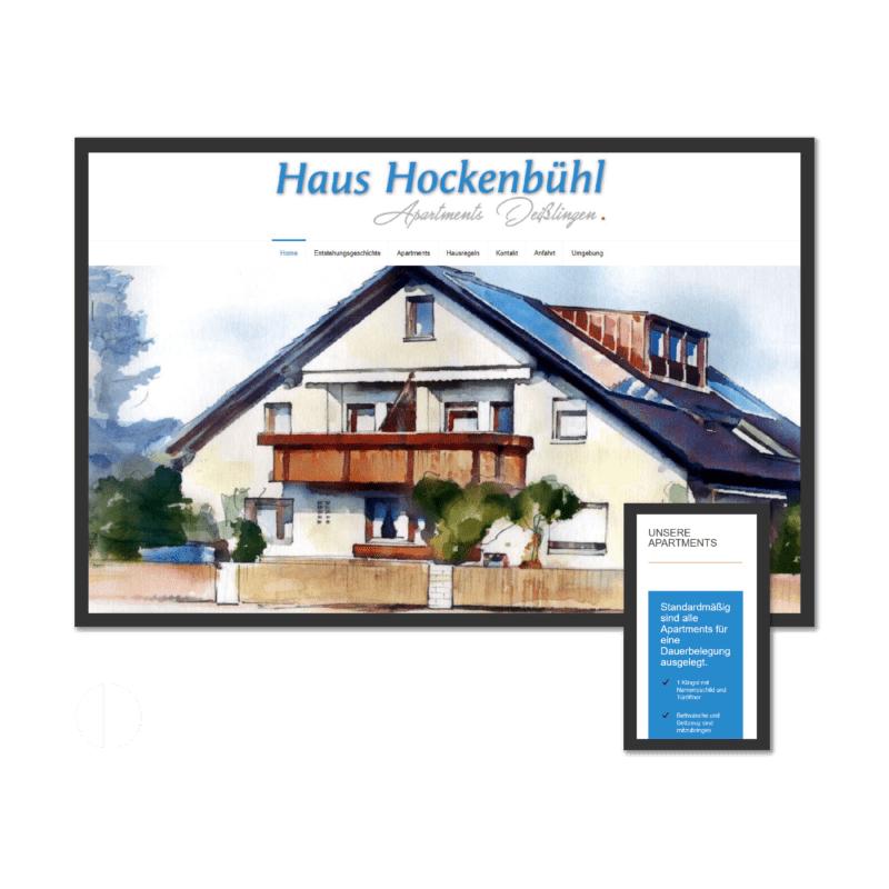 K.HERMES Grafik & Webdesign - haus hockenbühl-HP