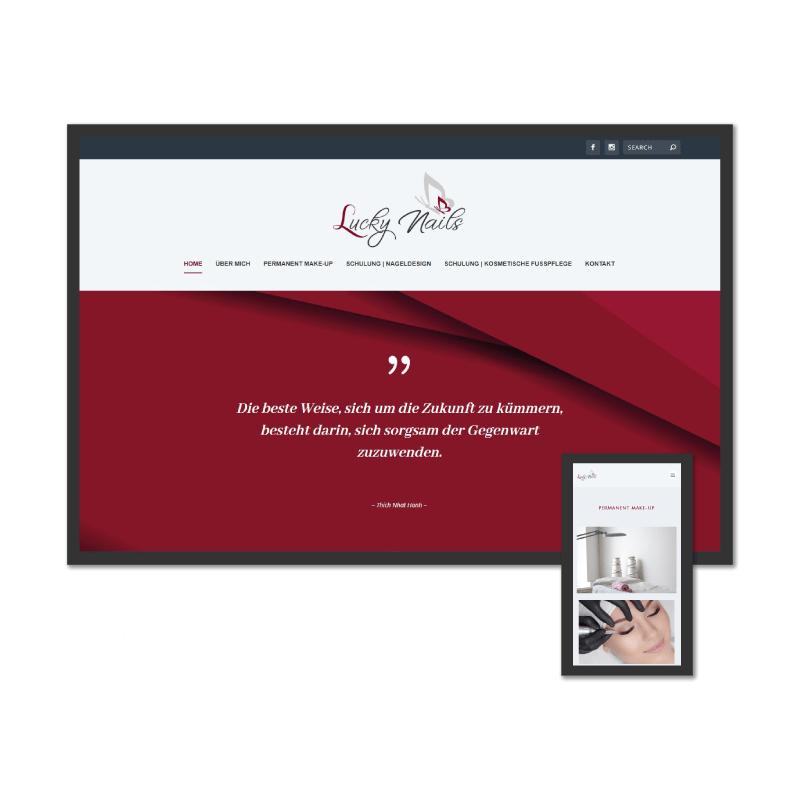 K.HERMES Grafik & Webdesign - luckynails-HP