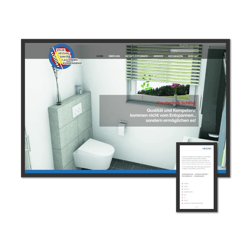 K.HERMES Grafik & Webdesign - schiller-HP